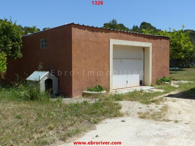 Villa am Stadtrand von Tortosa